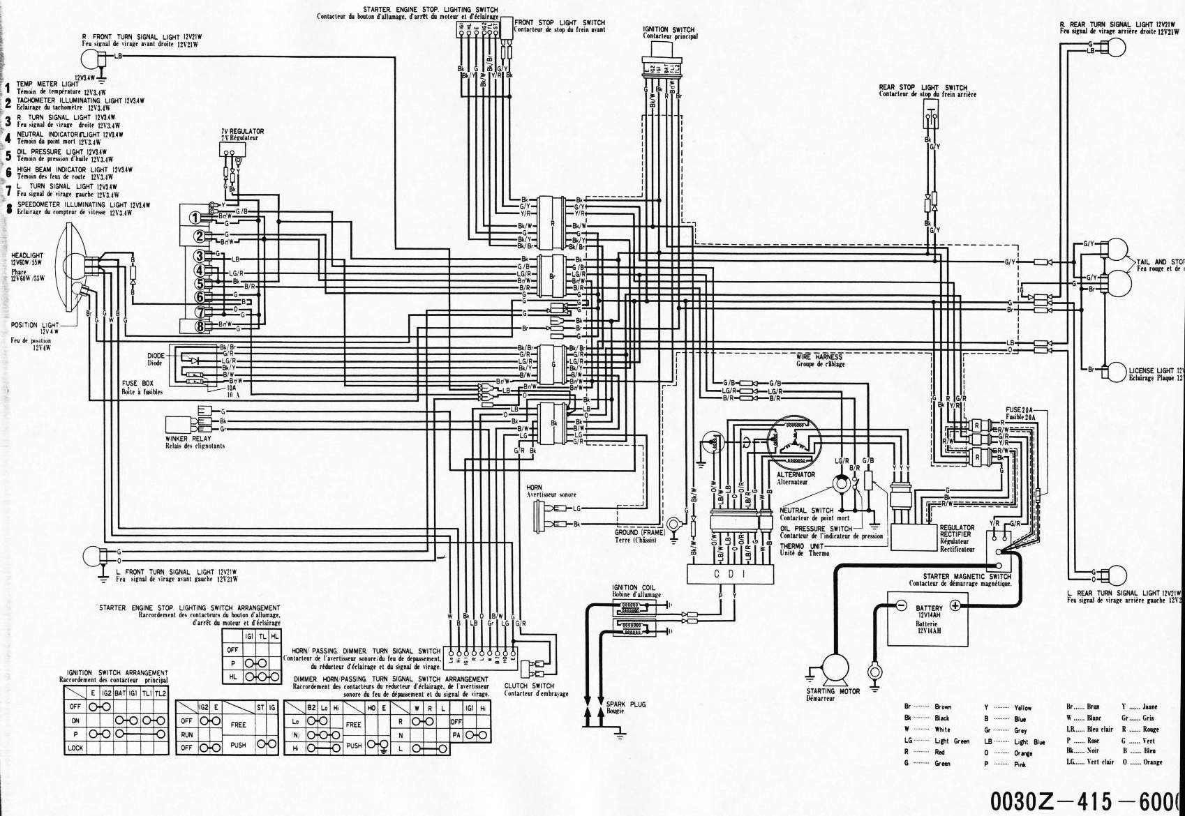 Cx500 Wiring Diagram Content Resource Of Xr350r File 1978 Honda Uk Cx And Gl Wiki Rh Motovillage Org Color 1980