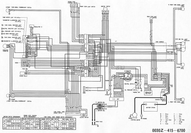 Honda Cx500 Wiring Diagram Further Honda Wiring Diagram On Honda